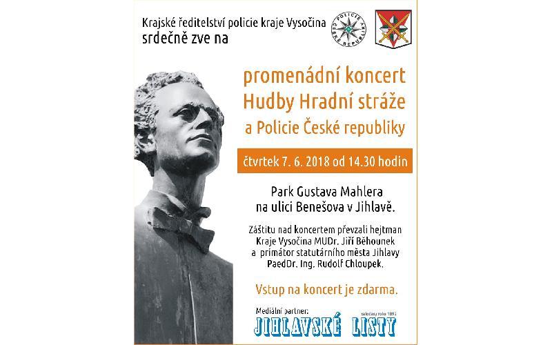 Aktuality - KONCERT HUDBY HRADNÍ STRÁŽE A POLICIE ČESKÉ REPUBLIKY V JIHLAVĚ