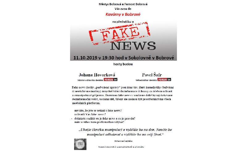 Aktuality - Fake news