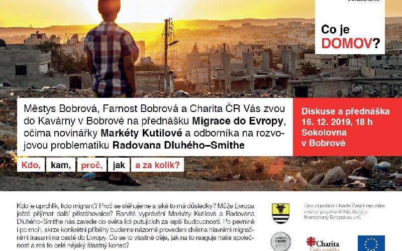 Aktuality - Migrace do Evropy