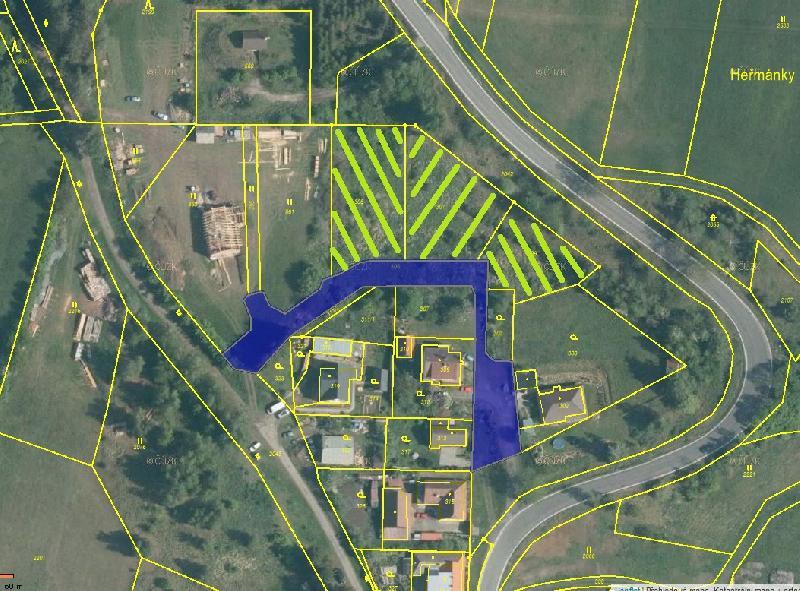 Prodej stavebních parcel číslo 299, 301, 305 v k.ú. Horní Bobrová v lokalitě Kalvárie